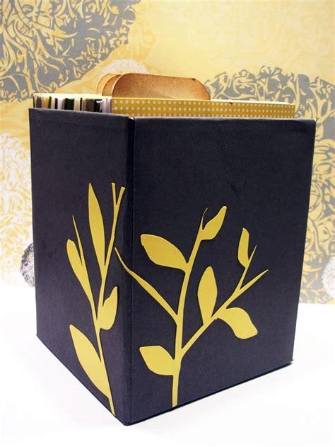 tissue box card holder greeting card storage tissue box i feel a project