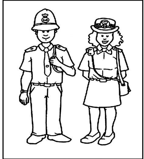 police officer coloring coloring coloring pages