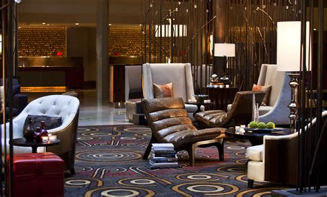 hotel lobby seating area renaissance washington hr construction