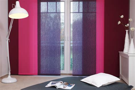 Schiebegardinen Fenster by Schiebegardine Raumtrenner Und Sonnenschutz Teba