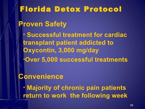 Detox Protocol Treatment by Dr Rick Sponaugle Chronic And Addiction