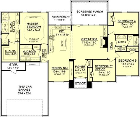 open floor plans 2000 square 25 best ideas about square on craftsman home plans contemporary kitchen ovens