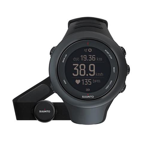 Smartwatch Suunto jual suunto ambit3 smartwatch black hr ss020678000