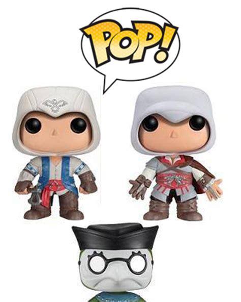 Funko Pop Ubisofts Assassins Creed Ii Ezio assassin s creed welcome funko pop to the brotherhood
