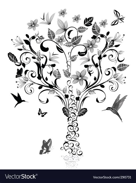 Vintage Tree Royalty Free Vector Image Vectorstock Vintage Family Tree Royalty Free Stock Images Image 32018779