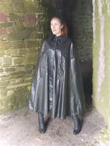 black rubber cape cape pinterest capes and black