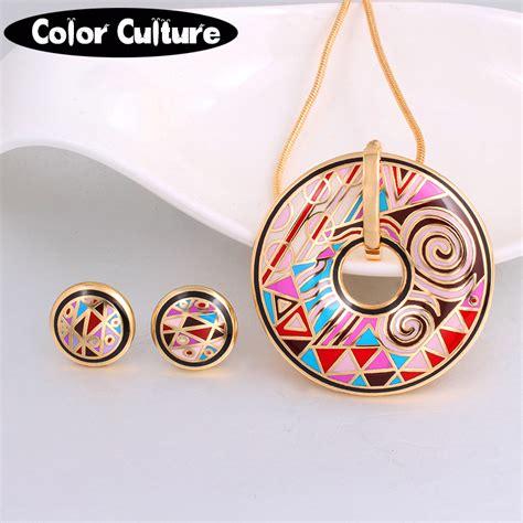 Jewelry Colour Culture high quality jewelry dubai enamel jewellery sets