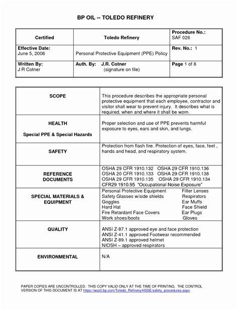 Bloodborne Pathogens Bbp Ppt Printable Osha Exposure Control Plan Template Awesome Doc Xls Exposure Plan Template