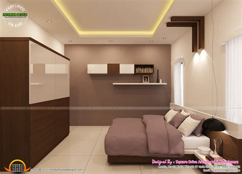 home interior design for bedroom bedroom interior decoration kerala home design and floor plans