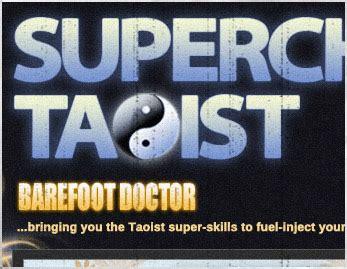 Supercharged Taoist nemesis design web design web development
