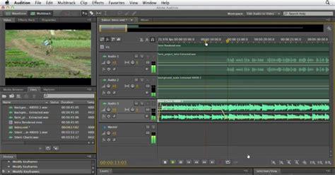 Mixer Audio Yogyakarta kursus komputer privat edit audio menggunakan adobe