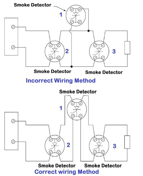 smoke detector home wiring diagram 28 images how to