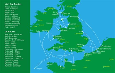 map uk ferry routes ireland uk europe ferry sea routes nutt travel