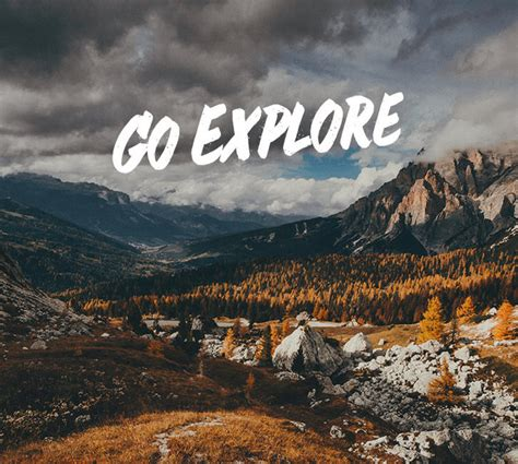 Go Explore just the ticket your one way trip to the world