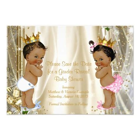 prince ethnic background ethnic prince princess baby shower save the date baby