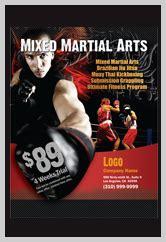 Martial Arts Flyers Martial Arts Flyer Template