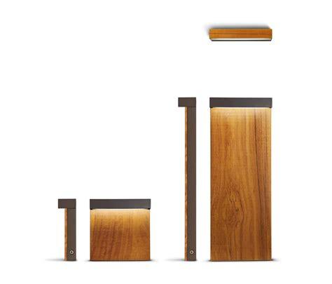 look wood minilook bollard h 580 mm single emission led