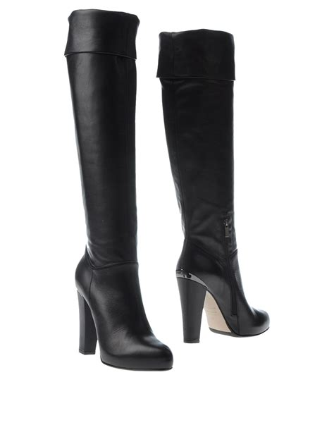 silla shoes le silla boots in black lyst