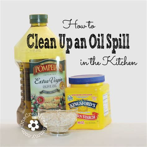How To Clean Up Spills In Kitchen by How To Clean Up An Spill In The Kitchen