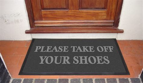 take your shoes rug would you mind taking your shoes zameen