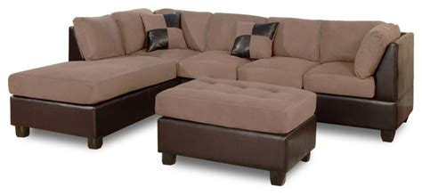 faux leather sectional sofa with chaise 3pc modern microfiber faux leather sectional sofa with