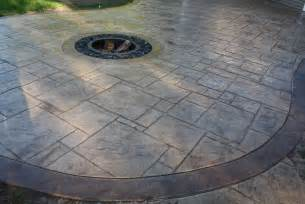 Stamped Concrete Patio Pros And Cons Spectacular Fire Pits For Your Appleton Home Mchugh S