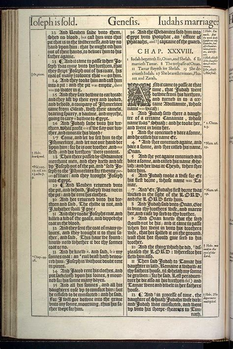 genesis chapter 37 kjv the booke of moses called genesis original 1611 kjv