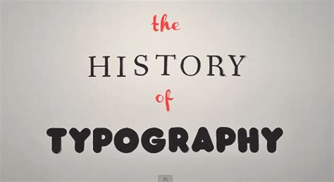 typography explained the history of typography explained in animated designtaxi