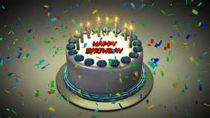 3d animated birthday cake images