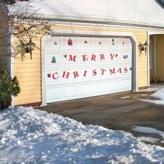 merry christmas garage door cover merry garage door covers 3d banners tree decorations outdoor billboard murals