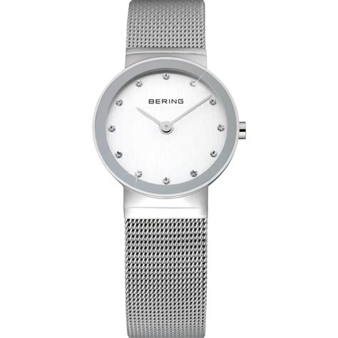 bering classic mesh with swarovski crystals
