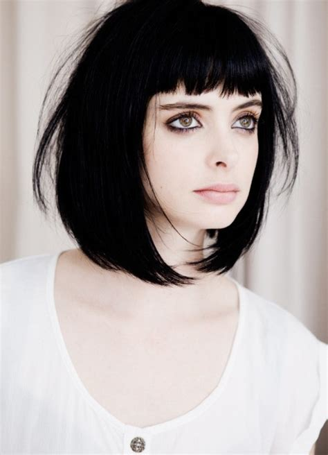 how to cut fringe bangs in bob long bob and blunt fringe haircuts styles of the