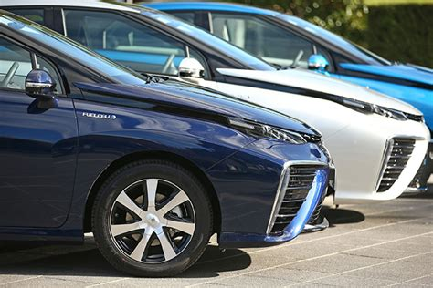 Toyota Fuel Cell Vehicle Toyota Mirai Hydrogen Fuel Cell Vehicle To Start
