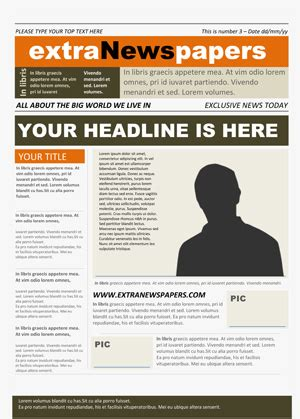 high school newspaper template newspaper template free microsoft word newspaper