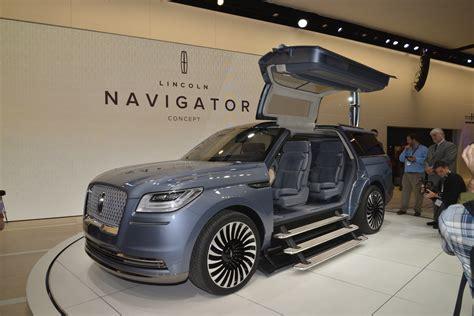 original cost new of vehicles lincoln navigator concept otro suv con quot alas de gaviota quot