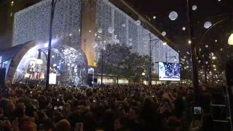 oxford street christmas lights switch on 2014 youtube
