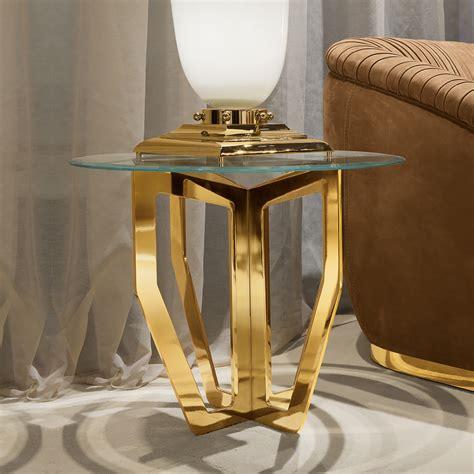 high end designer table ls high end italian designer glass side table