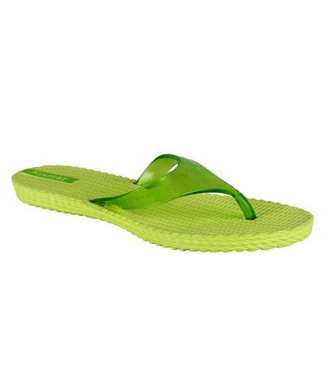 green house shoes mixstar green slippers buy women s slippers flip flops snapdeal