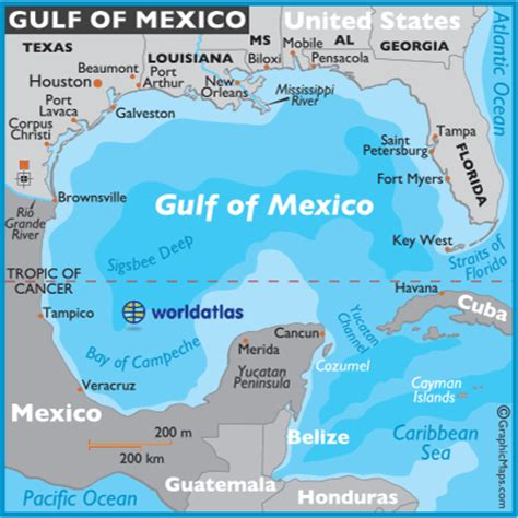 gulf of mexico map mexico maps gulf of mexico facts