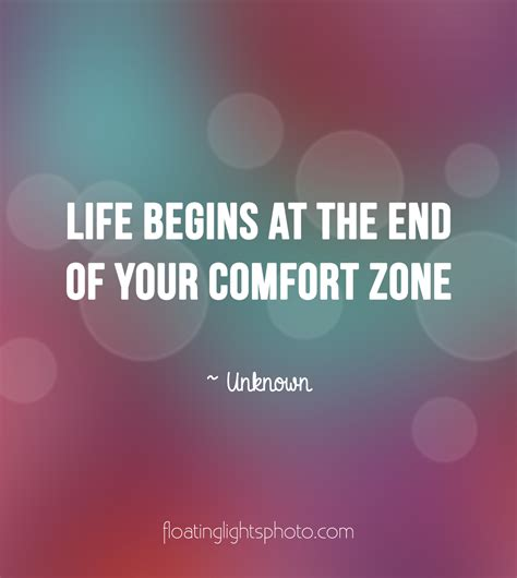 life starts comfort zone life begins at the end of your comfort zone 187 floating