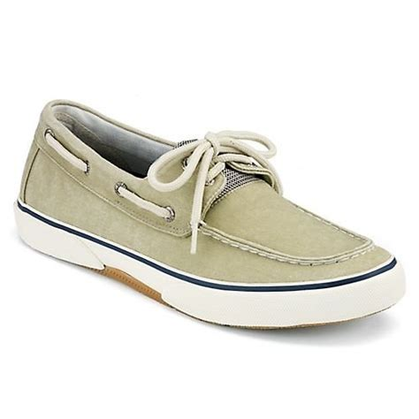 sperry top sider s halyard 2 eye boat shoe sw