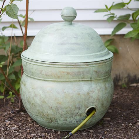 Garden Hose Container This Copper Hose Pot Lid Would Look In My Garden