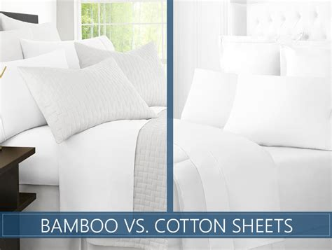 Bamboo Sheets Vs Cotton | cotton vs bamboo sheets which ones should you buy in 2018