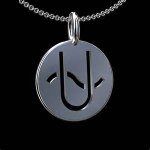 ophiuchus zodiac sign 14k yellow gold pendant necklace