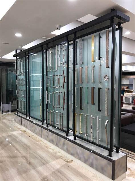 glass panel interior door showrooms glass door handles handles display sles range of