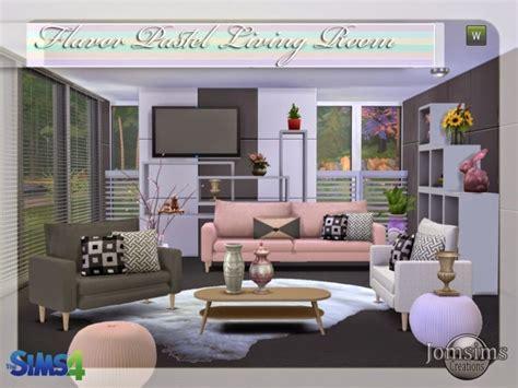 sims 4 cc beauty salon flavor pastel salon at jomsims creations 187 sims 4 updates