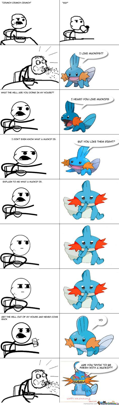 mudkip enters cereal guy s house and talks about mudkips