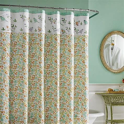 laura ashley shower curtain laura ashley 174 birds and branches fabric shower curtain