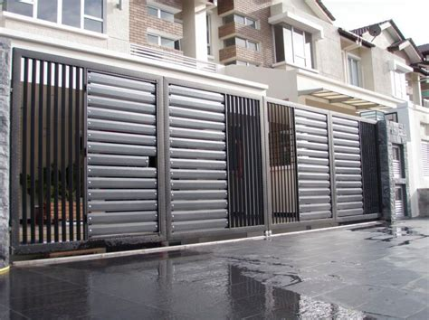 Alarm Rumah Malaysia stainless steel entrance gate 10 malaysia entrance gate supplier stainless steel gate