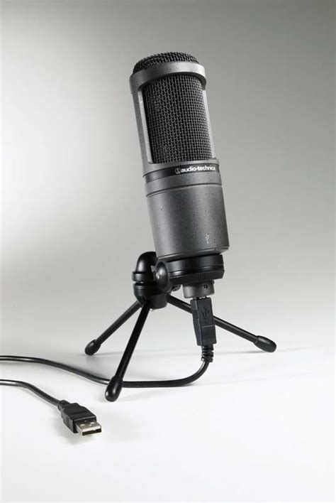 Audio Technica At2020 Usb audio technica at2020 usb condenser usb microphone the